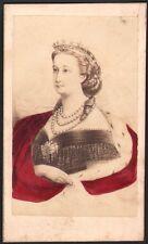 Eugénie de Montijo Impératrice. Photographe Neurdein. Vers 1870. Napoléon III