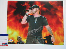 BRANTLEY GILBERT SIGNED 11X14 PHOTO PSA/DNA Y40986 BOTTOMS UP HELL ON WHEELS