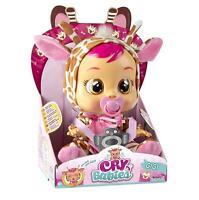 IMC Toys Cry Babies Gigi Adorable Giraffe Baby Real Tears Crying Doll 90194IM