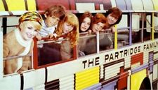 1970s Partridge Family on bus promo picture replica fridge magnet - new!