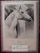 RARE Esquire 1941 ART WESLEY DENNIS painting of an American Horse!