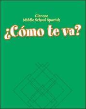 Glencoe Middle School Spanish: ¿Cómo te va? A Nivel verde, Workbook (Spanish Edi