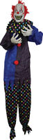HALLOWEEN 6 FT ANIMATED SHAKING CLOWN PROP DECORATION HAUNTED HOUSE