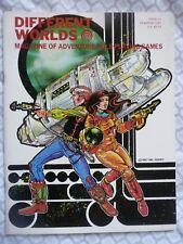 DIFFERENT WORLDS #11 (Chaosium 1981) • D&D/Traveller/RuneQuest • Near mint!