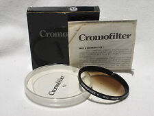 CROMOFILTER Y1  55mm France (  Cromo filter ) with box ,case, instructions