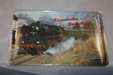 Eisenbahn Nostalgie Blechschild 20x30 cm Eisenbahn Dampflok Lokomotive DDR 50 56