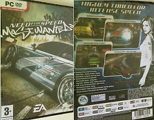 PC NFS Need for Speed Most Wanted Spiel Rennspiel Autospiel Autorennspiel Neu OV