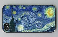 """Cover  """"La notte stellata"""" di Van Gogh per iPhone 4, 4s, 5, 5s e 5c, 6"""