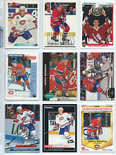 Patrice Brisebois hockey card lot (64), Montreal Canadiens defenceman