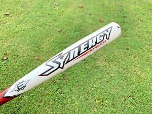 "Easton Synergy Speed composite baseball bat 33""/30 Ounce 2 5/8 B. BESR 90 flex"