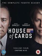 House Of Cards Season 4 New & Sealed Region 2 DVD Boxset