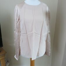 Reserved Pale/Blush Pink Long sleeved Top size 8 BNWT