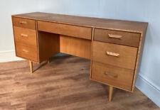 More details for teak mid century desk / dressing table. retro vintage
