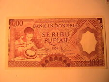 Indonesia 100 Rupiah 1958 Circ 22# Bank Currency Money Banknote