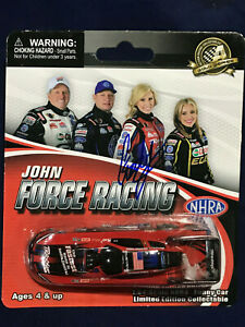 CF Action Racing Collectables 1/64 Courtney Force Traxxas Mustang FC AUTOGRAPH B