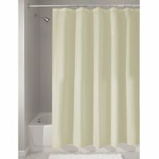 "Shower Curtain Mold and Mildew Free Waterproof Fabric Bathroom 72""x72"" Sand"