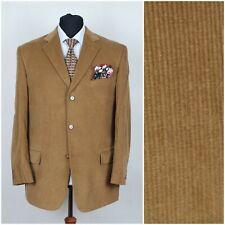 1f9cdaed611 Mens Brown Corduroy Cord Sports Jacket Blazer LICONA SIZE L Large UK 42  Regular