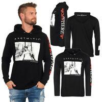DIESEL Hoodie Kapuzenpullover Herren Schwarz Typ F-Fonty YBT Shirt  OVP NEU