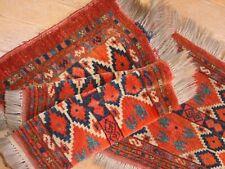 Wonderful Antique Full Pile 1890Turkoman Ersari Torba *Hg*