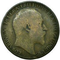 1902-1910 HALF PENNY COIN - EDWARD VII.  CHOOSE YOUR DATE!     ONE COIN/BUY!
