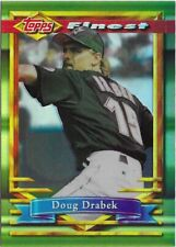 CK3) 1994 Topps Finest DOUG DRABEK Refractor SP #345 Houston Astros