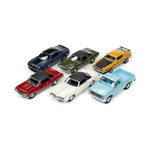 Auto World 1:64 Scale Vehicle Toy - Assorted For Kids Christmas Gift HH