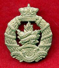 WW2 Canada Duke Of Connaughts Own Rifles British Columbia Cap Badge
