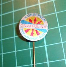 CN van der Pijl NV Ter Aar conserven  - stick pin badge 60s vtg speldje