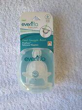 NEW Evenflo Bebok baby bottle nipples medium flow 3-6 months