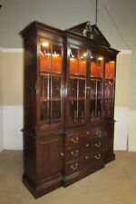 Ethan Allen Dining Room Cherry Cabinets Cupboards