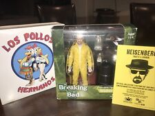 BREAKING BAD Walter White Los Pollos Hermanos 2013 Con Exclusive Mezco Figure