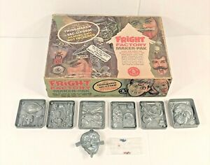 VINTAGE 1966 MATTEL THING MAKER FRIGHT FACTORY MAKER NOT COMPLETE WITH BEADS