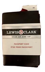 Lewis  N Clark Passport Case New