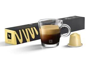 10 Nespresso VANILLA ECLAIR Capsules BARISTA Coffee Espresso Coconut ORIGINAL OL