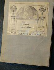 Belle Carte/Plan du Sahara - 1932 - Tamanrasset - échelle 1:200.000è - Militaire
