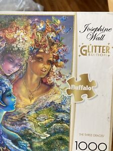 Josephine Wall The Three Graces 1000 Piece Glitter Edition Jigsaw Puzzle