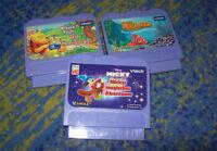 VTECH Sammlung  V.Smile Mickey Nemo  Pooh  mehrere Spiele V-Tech V Tech