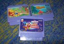 VTECH Sammlung  V.Smile Mickey Cars Pooh  mehrere Spiele V-Tech V Tech