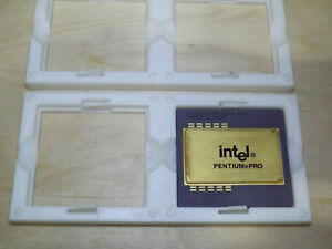 Tray Holder for CPU socket8 Pentium Pro Plastic, 4 pcs. Designed for collectors