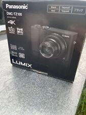 Panasonic Lumix DMC-TZ100 20.1MP 10x Optical Zoom 4K Digital Compact Camera