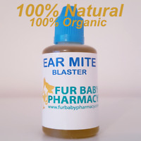 5ML Ear Drops For Dogs And Cats Kills Ear Mites 100% NATURAL Canker Ear Cleaner