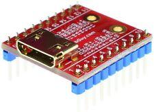 HDMI mini Type C Female socket Breakout Board, adapter,  eLabGuy HDMI-CF-BO-V2A