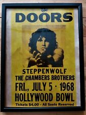 The Doors Locandina Concerto Live at The Hoolywood Bowl 1968