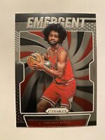2019-20 Panini Prizm Coby White Emergent Insert Rookie Card #1 - * MINT! WOW!! *