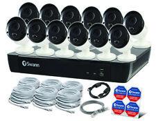 Swann NVR16-8580 16CH 4K 2TB 12 x NHD-865MSB 5MP POE Camera SWNVK-16758012 $3399