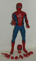 NECA 1/4 Scale SPIDER-MAN HOMECOMING MARVEL SPIDERMAN Action Figure - Used