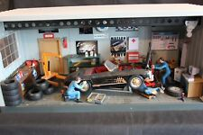 "Diorama Mercedes-Benz Work shop 1:18 Mercedes-Benz 300 SL ""barn find"""