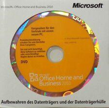 MS OFFICE Home and Business 2010 DVD CD Vollversion Dauerlizenz 32/64bit DEUTSCH