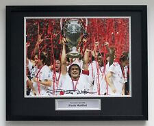 More details for paolo maldini ac milan champions football memorabilia signed classic frame