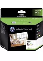 1x Genuine HP955XL 4-ink Value Pack For HP Pro 8210,8710,8730,8740